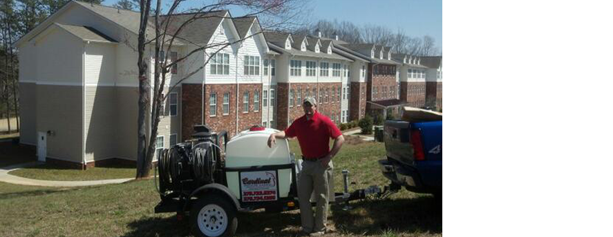 Cardinal Pressure Washing, Inc. is licensed & ready to travel VA/NC/TN